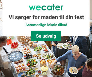wecater.dk - catering og mad ud af huset